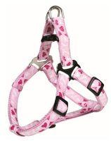 """Шлея для собак """"Modern Art Harness Rose Hearts"""" (размер S, 40-50 см, розовый, арт. 16038)"""