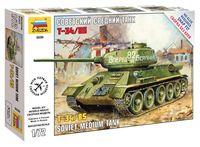"""Сборная модель """"Советский средний танк Т-34/85"""" (масштаб: 1/72)"""