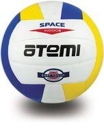 """Мяч волейбольный Atemi """"Space"""" №5 (бело-жёлто-синий)"""