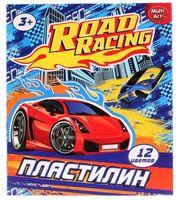 """Пластилин """"Road Racing"""" (12 цветов)"""