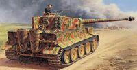 """Тяжелый танк """"Pz.Kpfw.VI Tiger I Ausf.E"""" (масштаб: 1/35)"""