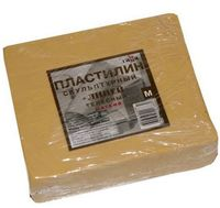 """Пластилин скульптурный """"Телесный"""" М (500 гр.)"""