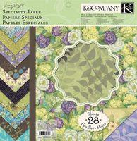 """Набор бумаги для скрапбукинга """"Мир растений"""" (310х310 мм; 28 листов)"""