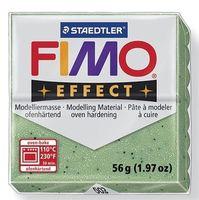 """Глина полимерная """"FIMO Effect"""" (зеленый металлик; 56 г)"""