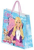 """Пакет бумажный подарочный """"Barbie"""" (28х35х9 см; арт. BRAB-UG1-2834-Bg)"""