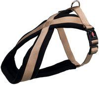 "Шлея для собак ""Premium"" (размер XS-S; 30-40 см; бежевая)"