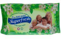 """Влажные салфетки """"Superfresh. Для всей семьи"""" (60 шт.)"""