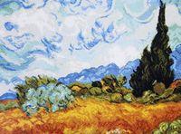 "Вышивка крестом ""Ван Гог. Кипарисы"" (390х300 мм)"