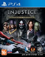 Injustice: Gods Among Us. Ultimate Edition [PS4]