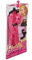 """Одежда для куклы """"Барби. Гламур. Платье с поясом и аксессуарами"""" (арт. CFX96)"""
