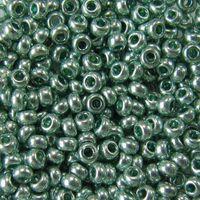 Бисер №18165 (светло-зеленый металлик, перламутровый; 10/0)