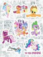 "Набор виниловых наклеек №190 ""My Little Pony"""