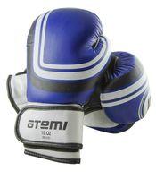 Перчатки боксёрские LTB-16101 (S/M; синие; 8 унций)