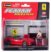 """Игровой набор """"Машинка с аксессуарами. Ferrari"""""""