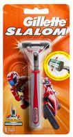 """Станок для бритья """"Slalom"""" (+1 кассета, красный)"""