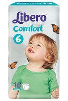 """Подгузники """"Comfort 6"""" (12-22 кг; 16 шт.)"""