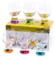 """Бокал для вина стеклянный """"Gina"""" (6 шт.; 230 мл; арт. 40159/D4725/230)"""