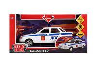 """Модель машины """"Lada 110 ДПС"""" (со световыми и звуковыми эффектами; арт. A553-H11060)"""