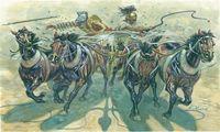 """Набор миниатюр """"Гладиаторы Квадрига"""" (масштаб: 1/32)"""
