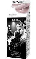 """Краска-уход для волос """"Estel Celebrity"""" (тон: 10.76, скандинавский блондин)"""