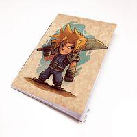 """Блокнот крафт """"Final Fantasy"""" (А7; арт. 886)"""