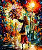 "Картина по номерам ""Под зонтом"" (400х500 мм)"