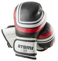 Перчатки боксёрские LTB-16101 (S/M; чёрные; 12 унций)