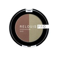 "Тени для век ""Relouis Pro Eyeshadow Duo"" (тон: 110)"