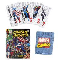 """Карты игральные """"Marvel Comic"""" (18+)"""