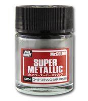 Краска Mr. Color Super Metallic (super stainless, SM04)