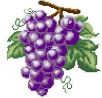 "Алмазная вышивка-мозаика ""Виноград"""