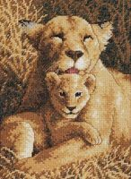 """Вышивка крестом """"Материнская гордость"""" (130x180 мм; арт. DMS-65075)"""