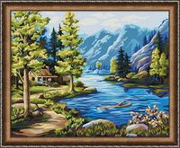 """Картина по номерам """"Северные виды"""" (400х500 мм)"""
