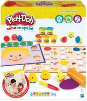 """Набор для лепки """"Play-Doh. Буквы и язык"""""""