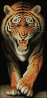 "Алмазная вышивка-мозаика ""Тигр"" (510х1050 мм)"