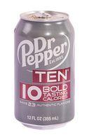 """Напиток газированный """"Dr. Pepper. Ten"""" (355 мл)"""