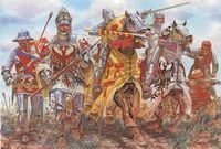 """Набор миниатюр """"Французский король с рыцарями"""" (масштаб: 1/32)"""
