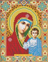 """Алмазная вышивка-мозаика """"Икона Казанская Богородица"""""""