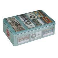 """Коробка для хранения """"Аудиокассеты"""" (20,2x13,2x6,7 см; арт. 37667)"""