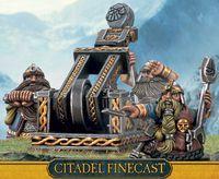 "Миниатюра ""Warhammer FB. Finecast: Dwarf Grudge Thrower"" (84-43)"