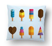 """Подушка маленькая """"Мороженое"""" (art.4)"""