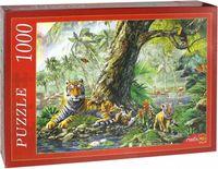 """Пазл """"Тигры под деревом"""" (1000 элементов)"""