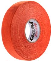 Лента хоккейная для крюка (24 мм; 25 м; оранжевая)