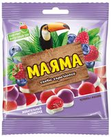 """Мармелад """"Маяма"""" (70 г; малина и черника со сливками)"""