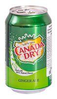 """Напиток газированный """"Canada Dry. Ginger Ale"""" (330 мл)"""