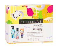 """Подарочный набор """"Beauty Kit. Be happy"""" (очищающее желе для умывания, тонер, матирующий крем)"""