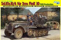 """Полугусеничный тягач """"Sd.Kfz. 10/4 für 2cm FlaK 30"""" (масштаб: 1/35)"""