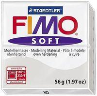 """Глина полимерная """"FIMO Soft"""" (серый дельфин; 56 г)"""