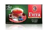 """Чай черный """"Принцесса Гита. Лесные ягоды"""" (24 пакетика)"""