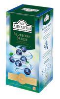 """Чай зеленый """"Ahmad Tea. С голубикой"""" (25 пакетиков; саше)"""
